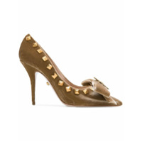 Fausto Puglisi studded pumps - Tons Neutres