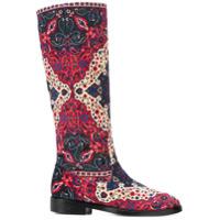 Leandra Medine bottes imprimées - Multicolore