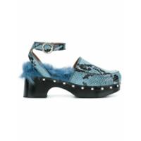 Nicole Saldaña sandales Bibi - Bleu