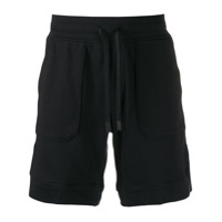 Boss Hugo Boss printed logo running shorts - Noir