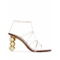Cult Gaia sandales Pietra 90 - Blanc