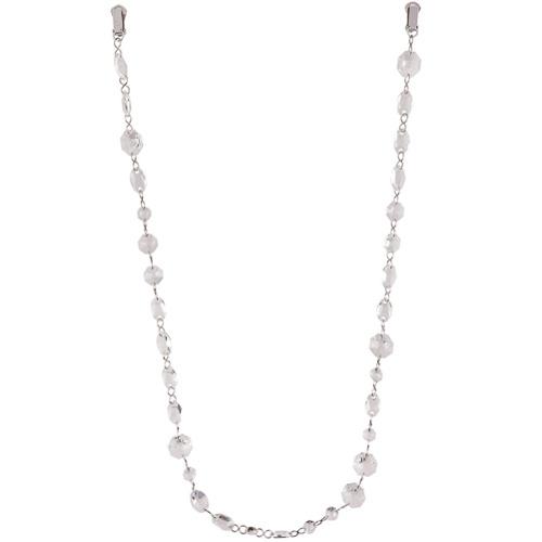 Maison Margiela crystal clip brooch - Blanc