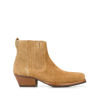 Our Legacy cuban heel ankle boots - Tons Neutres