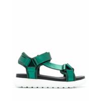P.A.R.O.S.H. sandales à plateforme - Vert
