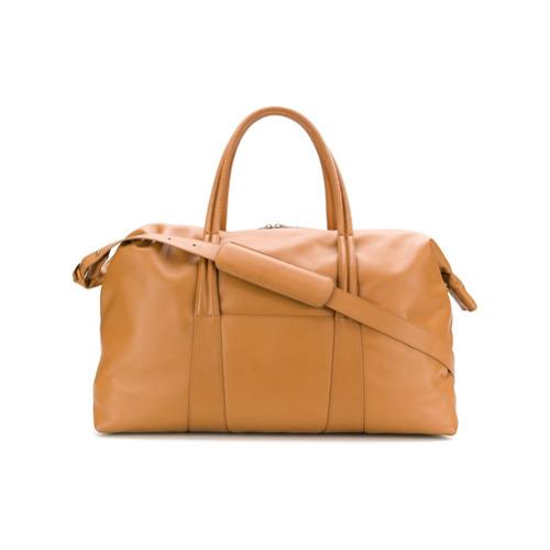 Maison Margiela sac de voyage zippé - Marron