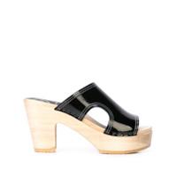 No.6 sandales Alexis - Noir