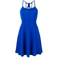 Dsquared2 robe patineuse à dos nageur - Bleu