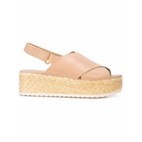 Vince jesson platform sandals - Tons Neutres