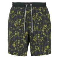The Upside camouflage running shorts - Bleu