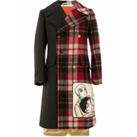 Gucci coat with Viva! Volleyball patch - Gris