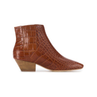 Nanushka bottines chelsea Salsa - Marron