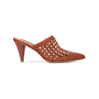 Veronica Beard mules Jaqlyn - Marron