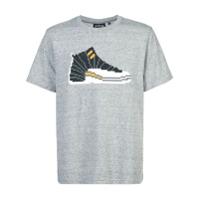 Mostly Heard Rarely Seen 8-Bit t-shirt à imprimé basket - Gris