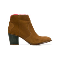 Zadig&Voltaire bottines Molly Fray - Marron