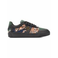 Mr & Mrs Italy camouflage tape skate sneakers - Vert
