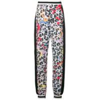 No Ka' Oi leopard print joggers - Noir