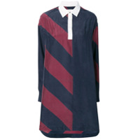 Tommy Hilfiger robe-polo courte Rugby - Bleu