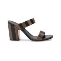 Rachel Comey striped mules - Noir