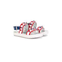 Simonetta sandales cloutées - Blanc