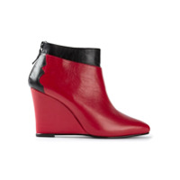 Toga bottines à talon compensé - Rouge