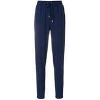 Michael Michael Kors tapered jogger trousers - Bleu