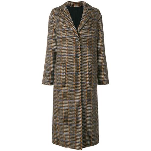 Etro Reversible coat - Marron