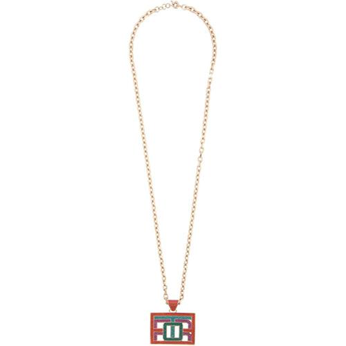 Etro embellished pendant necklace - Multicolore