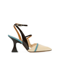 Ssheena square toe sandals - Tons Neutres