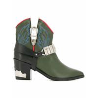 Toga bottines d'inspiration western - Vert