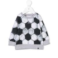 Molo football print sweatshirt - Gris