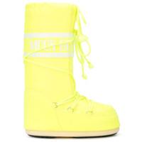 Jeremy Scott bottes de ski x Moon Boots - Jaune