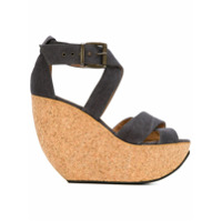 Minimarket sandales compensées  Wati  - Gris