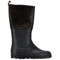 Holland & Holland bottes bicolores - Marron