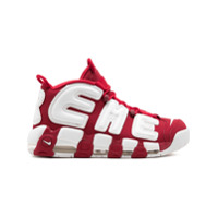 Supreme baskets Nike x Surpreme Air More Uptempo - Rouge