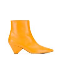 Christian Wijnants bottines à bout pointu - Orange