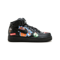 Supreme baskets Air Force 1 Mid '07 / Supreme - Noir