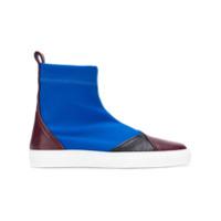 Cédric Charlier ankle boots - Bleu