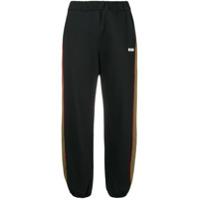 MSGM side stripe joggers - Noir