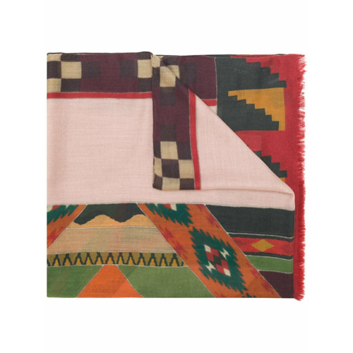 Etro patterned scarf - Multicolore