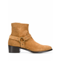 Raparo bottines en daim - Marron