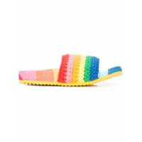 Mira Mikati sandales à design tissé - Multicolore