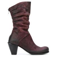Lost & Found Ria Dunn bottines plissées - Rouge