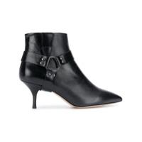 Morobé strap detail ankle boots - Noir