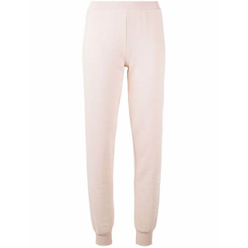 Emporio Armani slim fit track trousers - Tons Neutres