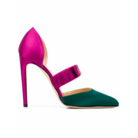 Chloe Gosselin escarpins Lily colour block - Rose