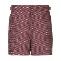The Upside printed running shorts - Rouge