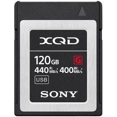 Sony XQD Card 120Gb Qdg120F 440MB/s Speicherkarten