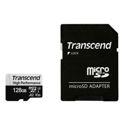 Transcend microSD Card 330S 128Gb Sdxc inkl. Adapter Karten
