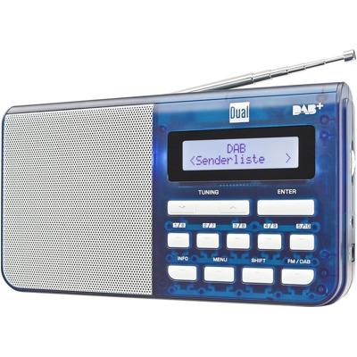 Dual DAB 4.1 T - Blau Dab+ Radio