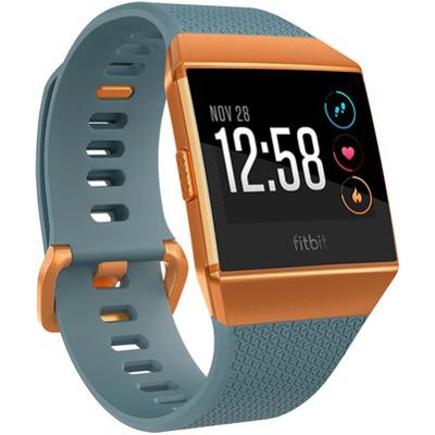 Fitbit Ionic - Smartwatch Schieferblau / Kupferfarben
